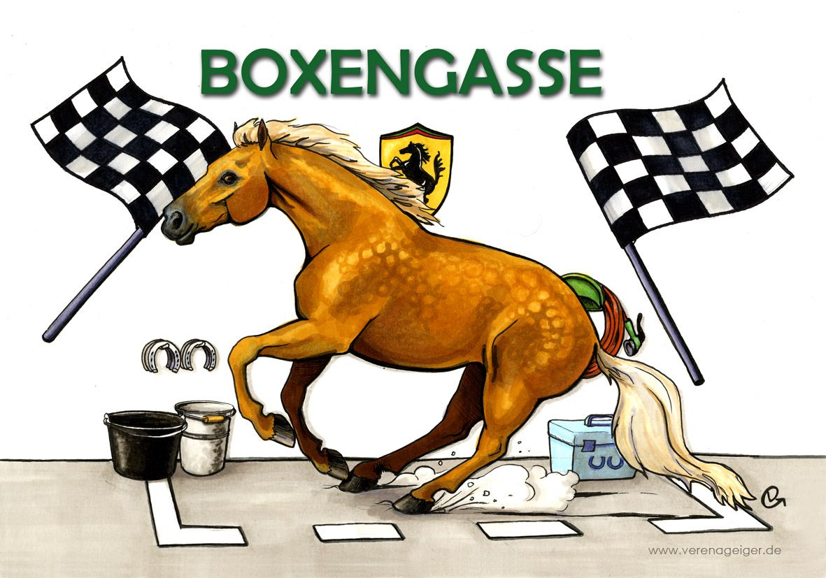 """Boxengasse"", Illustration 2017"